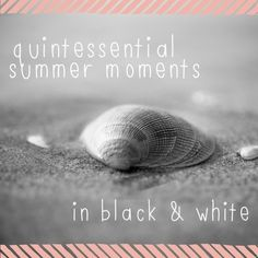 15 Ideas for Photographing Summer Moments in Black and White