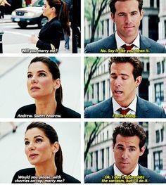 The Proposal - Ryan Reynolds and Sandra Bullock