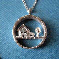 Sterling Silver Long Little Yard Necklace by JillKDavisJewelry, $156.00