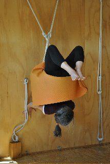 37 best iyengar yoga rope wall inversions images  yoga