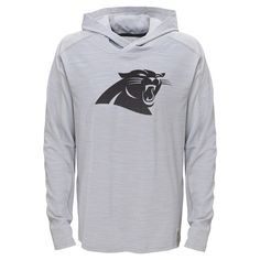 Activewear Sweatshirt NFL Carolina Panthers Team Color XS, Boy's