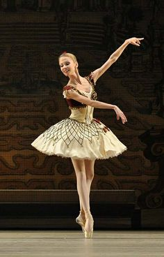 Anastasia Stashkevich in the Grand Pas from Paquita during Bolshoi's London season 2010. Photo by John Ross