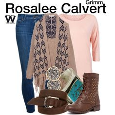 Inspired by Bree Turner as Rosalee Calvert on Grimm. Rosalee Calvert, Grimm Tv Show, Tv Show Outfits, Daytime Outfit, Jewelry Tattoo, Other Outfits, Character Outfits, Costumes, Costume Ideas