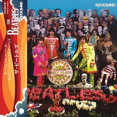 The Beatles Sgt. Pepper's Lonely Hearts Club Band (Rockband Mixes) Mini Lp Cd
