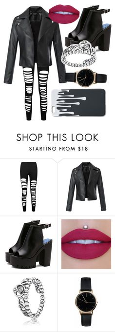 """""""Rock concert"""" by specialka-1425 on Polyvore featuring Jeffree Star, Pandora and Freedom To Exist"""