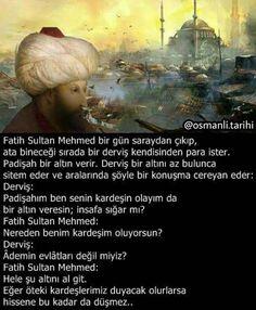 Fatih Sultan Mehmet ve miskin derviş... #FatihSultanMehmet