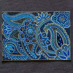 From blue to turquoise sea color in the house by Olesya Rubinova on Etsy