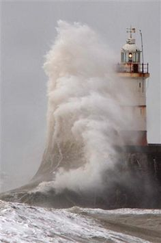 And the lighthouse stood fast.  Built on a rock. I hope your light is that safe in this world!