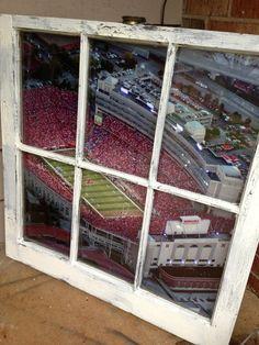 University of Nebraska Window by WindowsbyLauren on Etsy, $100.00  Discount Code:FIFTEENOFF  !!!!!!!