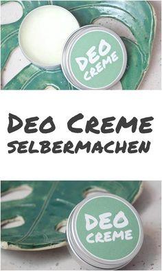 {DIY} Deo-Creme selbermachen Make deodorant cream yourself Plastic free beautiful: The beDIY Hygiene Hacks (DIY De{DIY} Deodorant Cream selbstmac Diy Deodorant, Make Your Own Deodorant, E Cosmetics, Natural Cosmetics, Banana Jam, Diy Beauté, Natural Hair Mask, Diy Makeup, Diy Face Mask