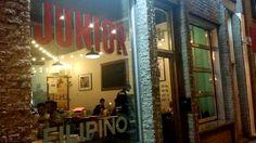 Restaurant Junior : vive la cuisine philippine dans Griffintown! | NIGHTLIFE.CA Restaurant, Junior, Nightlife, Philippines, Condo, Neon Signs, Kitchens, Diner Restaurant, Restaurants