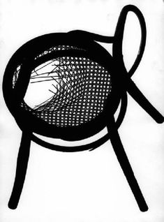 Franco Grignani, The curves of the Thonet, 50s [from Daniela Grignani] Logo Sketches, Photo Logo, Graphic Design, Gallery, Image, Curves, Roof Rack, Full Figured, Visual Communication