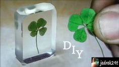 Picture of DIY Four-leaf Clover in Resin