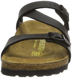 Birkenstock Women´s Salina Black Birko Flor Sandals 35.0 N EU N 023123