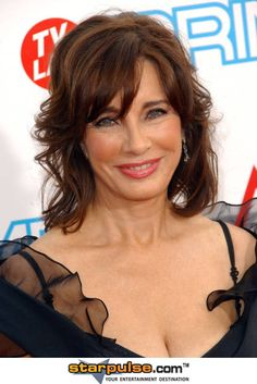 Anne Archer - I once sat next to her at an auction in Newbury. Lovely lady. Distracted me so much That I bid and won the wrong lot. Oops.