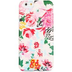 ban.do Florabunda iPhone 6/6S Case ($9) ❤ liked on Polyvore featuring accessories, tech accessories, phone cases, phone, cases and floral