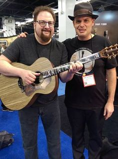 BlackBird Guitars - First day at the NAMM Show was a blast
