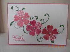 Image result for stampin up pensées fleuries