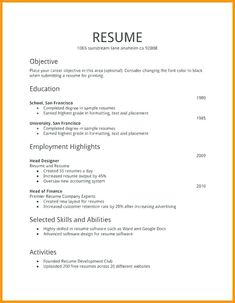 Sample Resumes For Job Application Resume Template Cv Cover Letter Example Templatesradiodigitalco
