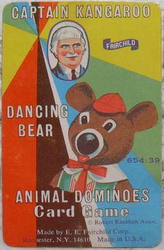 I loved Mr. Moose and Dancing Bear on Captain Kangaroo.