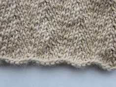 Manly Scarf 3: Night on the Town | Impeccable Knits: Shifting Stitches