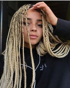Tresse cheveux crepus Hairstyle/Coiffure en 2019