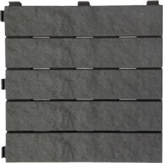 Re-cover tree deck??  Multy Home 12 in. x 12 in. Rubber Slate Deck Tile (6-Pack)-MT5100012 at The Home Depot