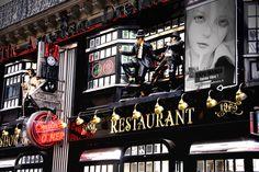 cool building - Paris restaurant