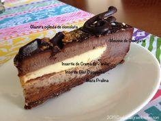 Tort de Mousse de Ciocolata cu Crema de Vanilie
