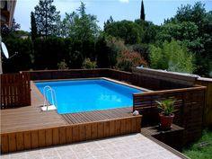 piscine laghetto classic habillage bois