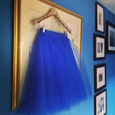 Tulle + Sequin hanger...perfect. @pearlsandpastries