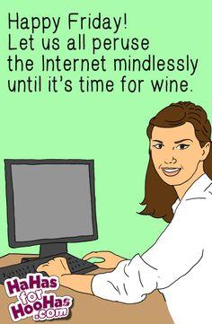 It's #Friday err'body! Share this #funnyecard on hahasforhoohas.com. ZING!