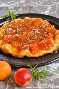 Tarte tatin aux abricots et romarin (Aprikosen-Rosmarin Tatin ) | Französisch Kochen by Aurélie Bastian