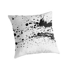 20% off pillows, mugs, & duvet covers. Use MAKEROOM20  Whoops! Ink on white fabric! no.2 by cool-shirts