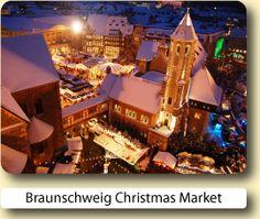 Braunschweig Christmas Market 25th November – 29th December 2015 Mon-Sat 10am-9pm Sun 11am-9pm  25th Nov 2015 starts at 6pm Closed 24th & 25th Dec