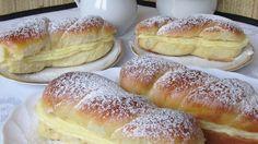 Mäkučké mini – pudingáče s vanilkovým krémom Hungarian Desserts, Hungarian Recipes, Sweet Pastries, Bread And Pastries, Eastern European Recipes, Cake Recipes, Dessert Recipes, Almond Cakes, Snacks