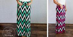 Perfect Summer Chevron Skirt!