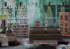 Rustikaler Schrank von Gutmann aus recycelten Altholz massiv lackiert - Möbel Mit www.moebelmit.de