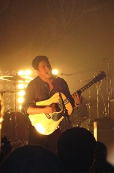 Marcus Mumford!  Mumford and Sons