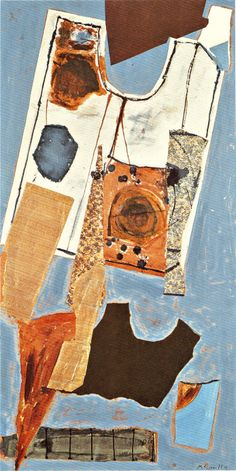 The Best Toys Are Made of Paper - Robert Motherwell 1948
