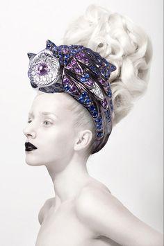"""PURE SEASON"" by Silvia Bratanova #extreme #hair #wig #high #fashion #haute #couture"