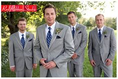 awesome 69 Charming Grey Groomsmen Suits Ideas  https://viscawedding.com/2017/07/02/69-charming-grey-groomsmen-suits-ideas/
