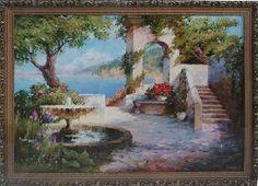 Картина в подарок Греция - Средиземноморье <- Картины маслом <- Картины - Каталог | Универсальный интернет-магазин подарков и сувениров