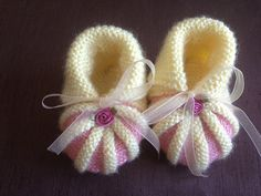 Items similar to Crochet Baby Booties Newborn Shoes Knitted Booties Baby Girl Booties Infant Shoes Yellow Baby Slippers on Etsy Knitted Booties, Crochet Baby Booties, Knit Crochet, Baby Booties Free Pattern, Newborn Shoes, Baby Slippers, Baby Yellow, Baby Boots, Kid Shoes
