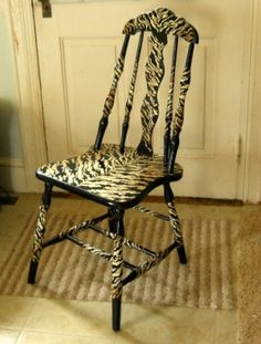 painted chair by normaann.moss