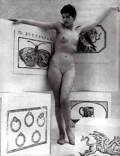 Zoltán Glass  Female nude study, 1950s.