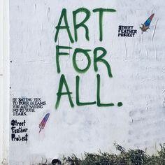 Art for all.