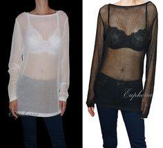 Women Top  Blouse  Sewater Knit Asymmetric by DancingQween8888