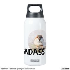 Sparrow - Badass 10 Oz Insulated SIGG Thermos Water Bottle