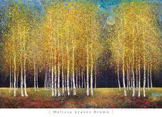 Goldener Hain Kunst von Melissa Graves-Brown bei AllPosters.de